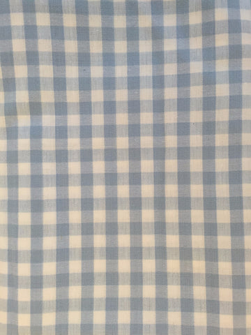 Duvet Cover - Blue Check