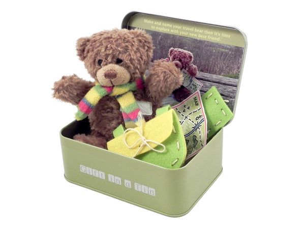 Build a Bear Kit in a tin