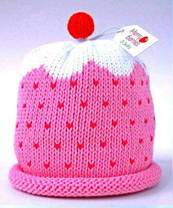 Cupcake Hat - VARIOUS COLOURS