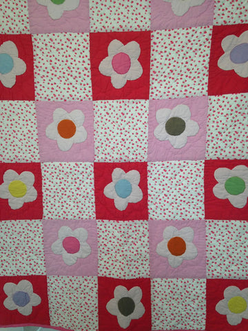 Daisies Single Quilt