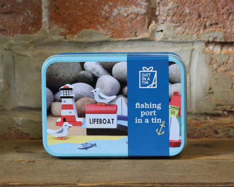 Fishing Port in a Tin