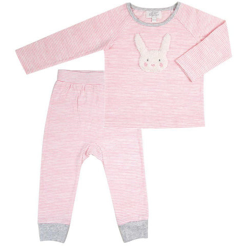 Fur Bunny Applique playsuit