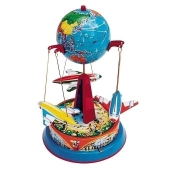 Globe Carousel with planes