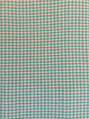Duvet Cover - Green Check