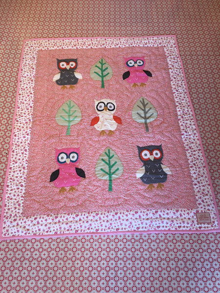 Owl - Pink