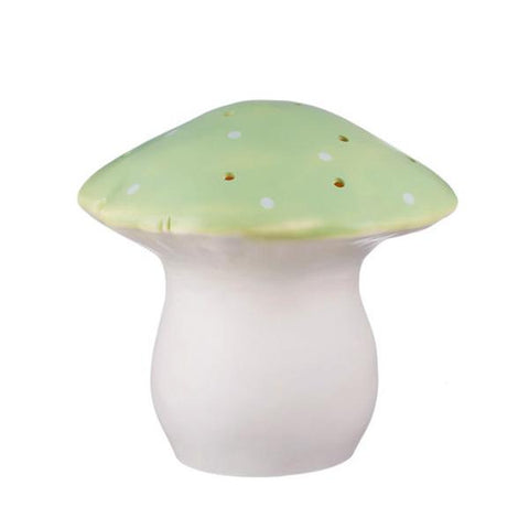 Green mushroom night light - large