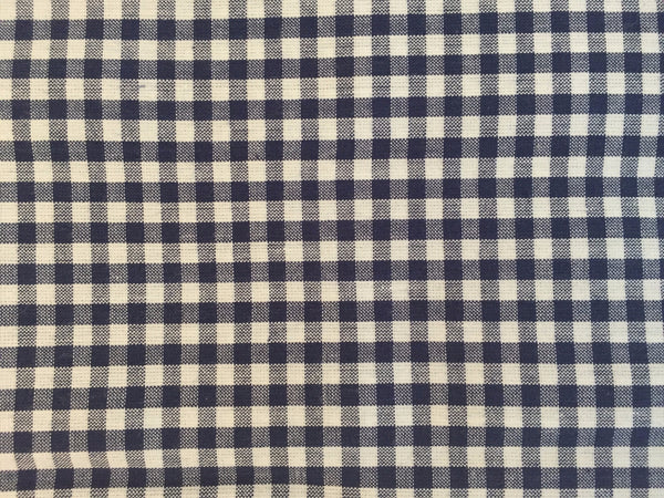 Pillow Case - Navy Check