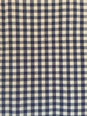 Duvet Cover - Navy Check