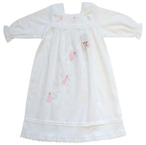 NIGHTDRESS- MADDY ANGEL EMBROIDERED