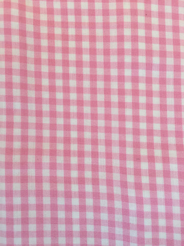 Duvet Cover - Pink Check