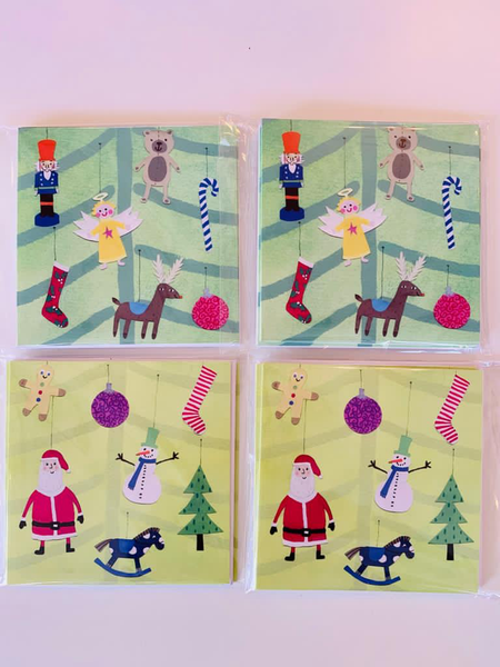 Christmas Cards in a pack of 5 in aid of Lauralynn