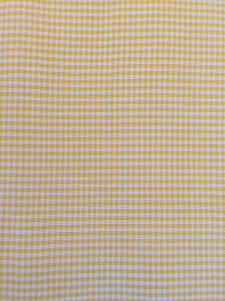 Duvet Cover - Yellow Check