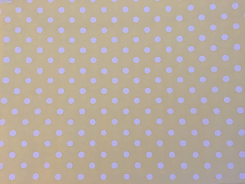 Pillowcase - Yellow with White Spot