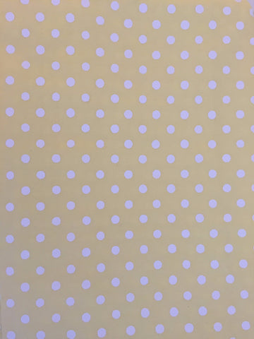 Duvet Cover - Yellow with White Spot