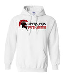 The Dark Iron Fitness Long Sleeve Pullover Hoodie for Men