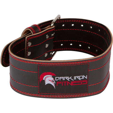 Dark Iron Fitness Genuine Leather Weight Lifting Belt