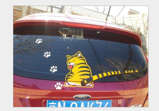 FREE SHIPPING: NEW Hot Funny CAT Car Rear Wiper - QualityGrab