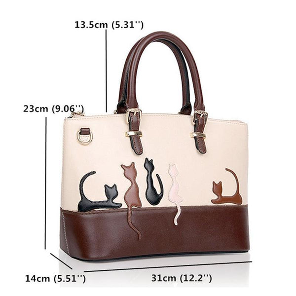 Cat Silhouette Shoulder Bag ! FREE SHIPPING