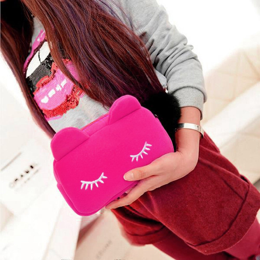 Cat Cosmetic Pouch  ! FREE WORLDWIDE SHIPPING