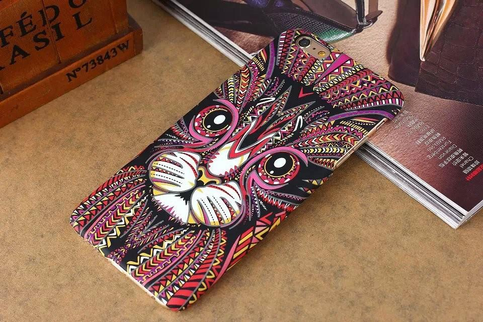Glow In Dark Cat phone Case Cover For Iphone 5/5s/6/6s/6s plus
