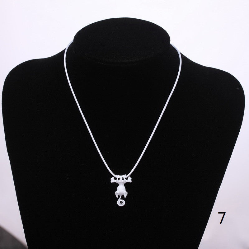 New Cute Cat Pendant Necklace