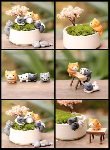 Super Cute Miniature Cat (6 Pieces)