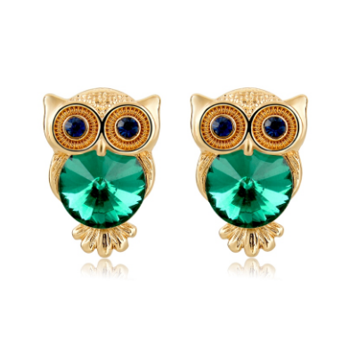 [SPECIAL 48HR PROMO]  18K Gold Plated Owl Earrings