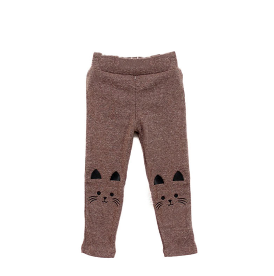 Toddlers Baby Girl Stretchy Warm CAT Leggings