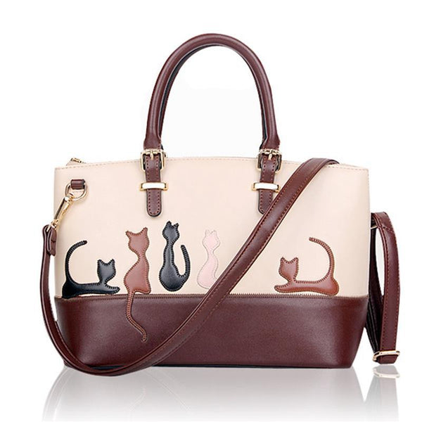Cat Silhouette Shoulder Bag ! FREE SHIPPING - QualityGrab