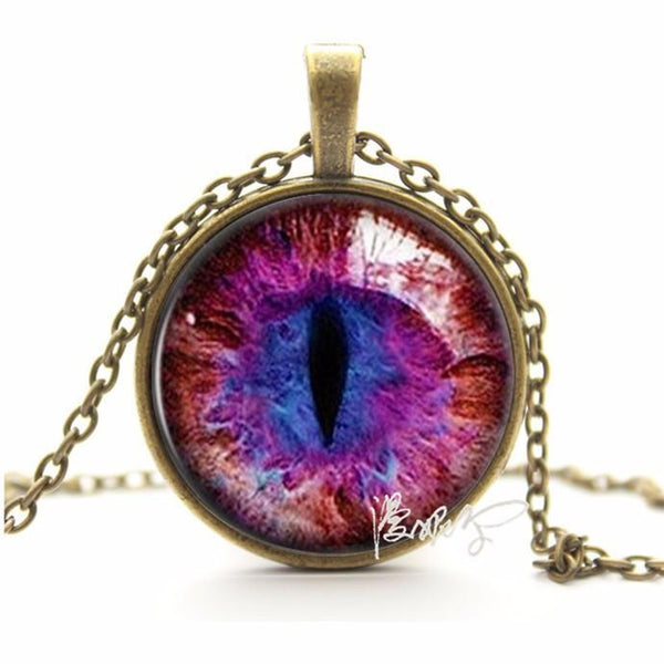2016 Vintage Cat Eye Pendant Necklace - QualityGrab