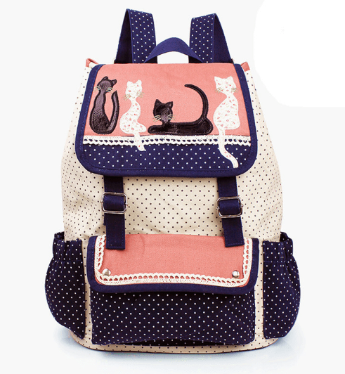 Multicolor CAT Backpack ! FREE SHIPPING