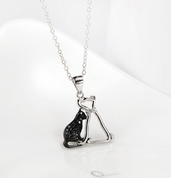 Premium Black Cubic Zirconia Cat & Dog Jewelry! FREE SHIPPING
