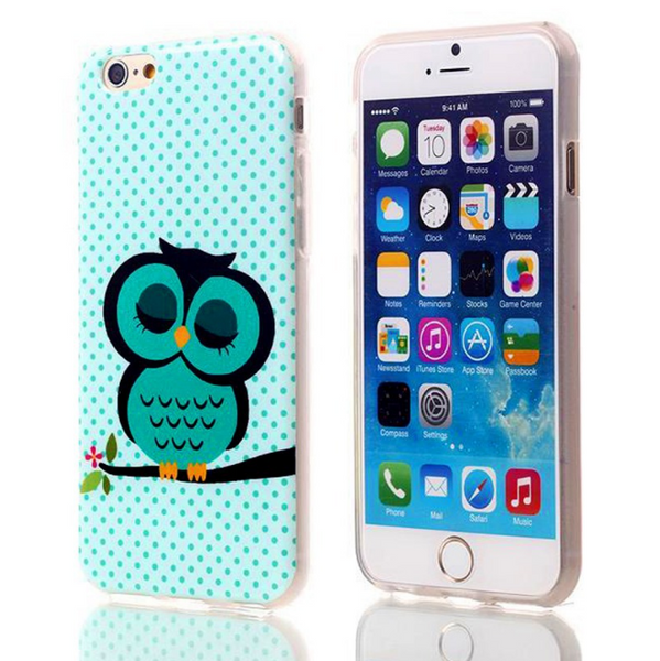 Cartoon Owl  Iphone Case 6/ 6s. Free Shipping