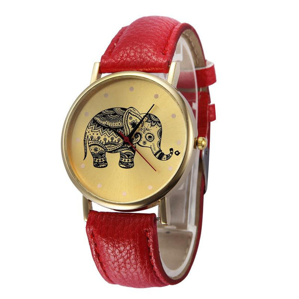 Elegant Elephant Strap Band Watch. FREE WORLDWIDE SHIPPING - QualityGrab