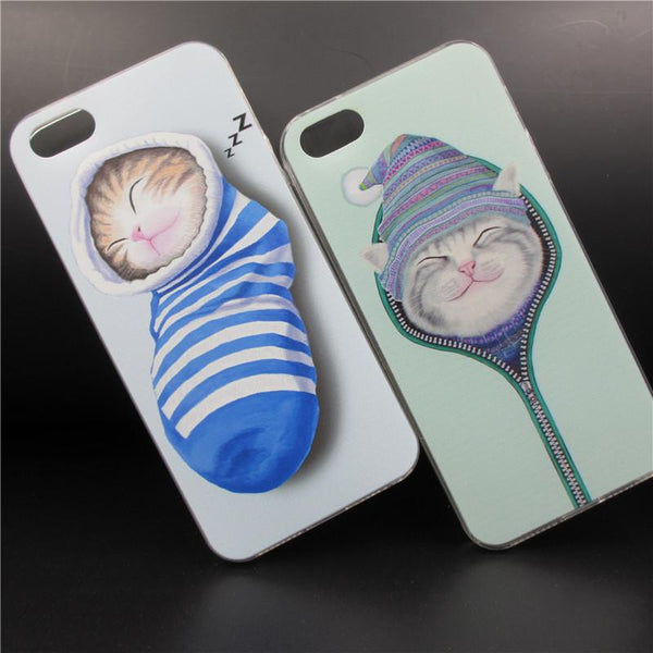 Sleeping Cute Kittens Iphone 6/6s Case ! FREE SHIPPING - QualityGrab