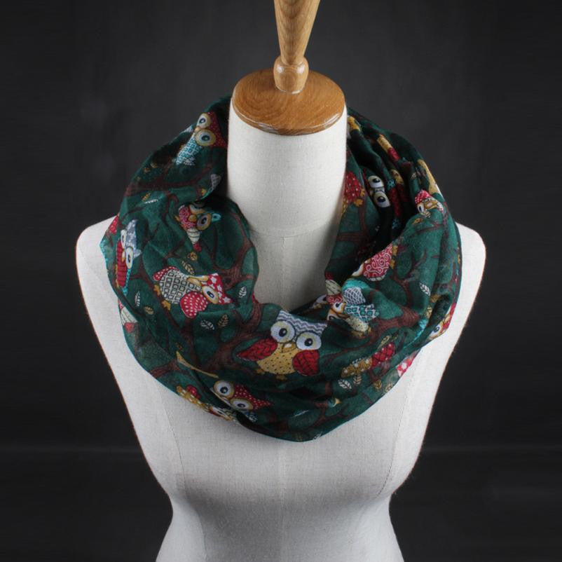 Fashion Owl Scarves. Free Shipping