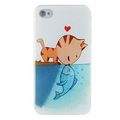 Kitten Kissing Fish Iphone Case ! FREE SHIPPING - QualityGrab