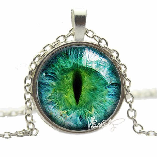 2016 Vintage Cat Eye Pendant Necklace. - QualityGrab