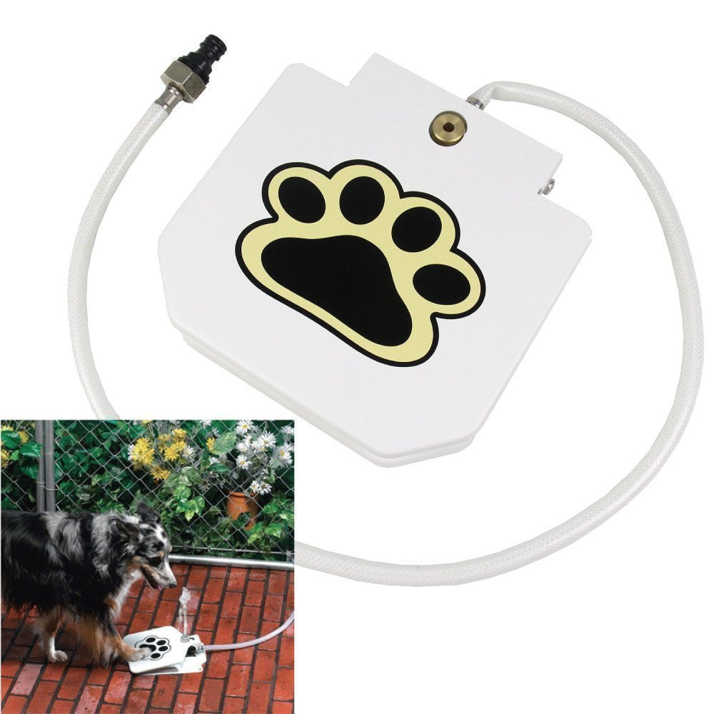 Automatic Pet Feeder Step-on Drinking Fountain (with hose)