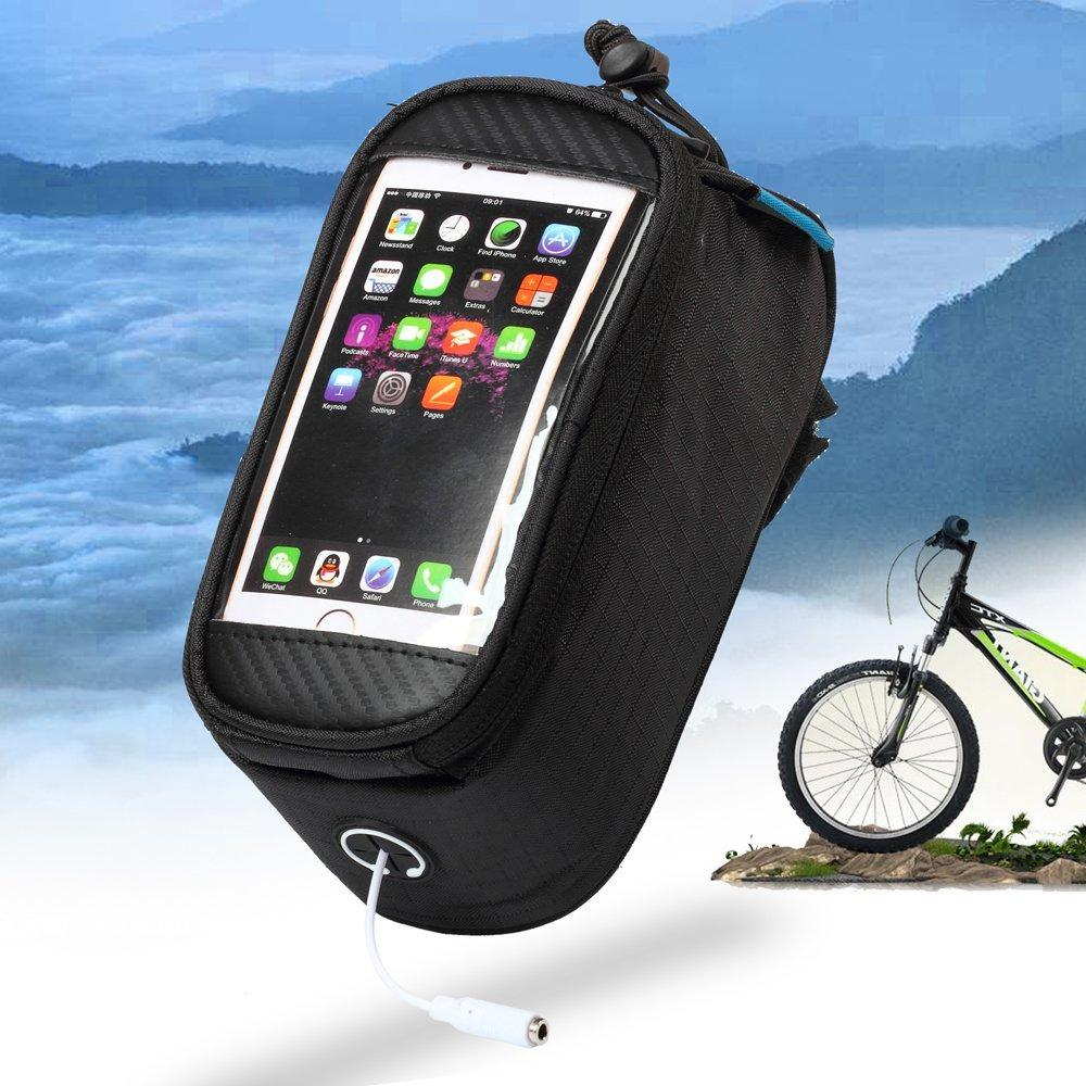 Bicycle Bags (With Touch Screen Mobile Phone Pocket)