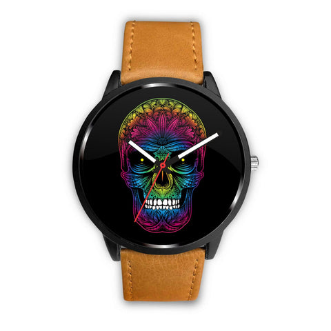 Rainbow Skull Watches