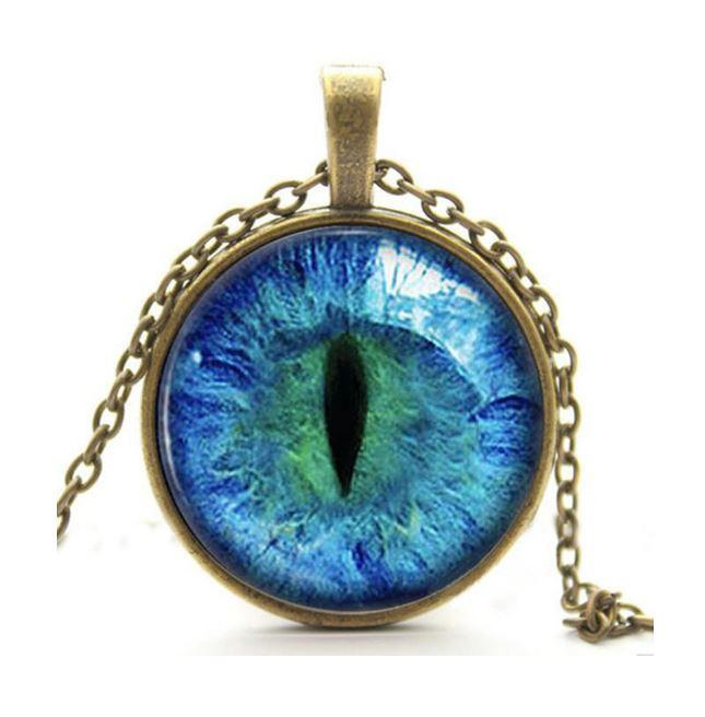 Vintage cat eye pendant necklace qualitygrab 2016 vintage cat eye pendant necklace qualitygrab aloadofball Images