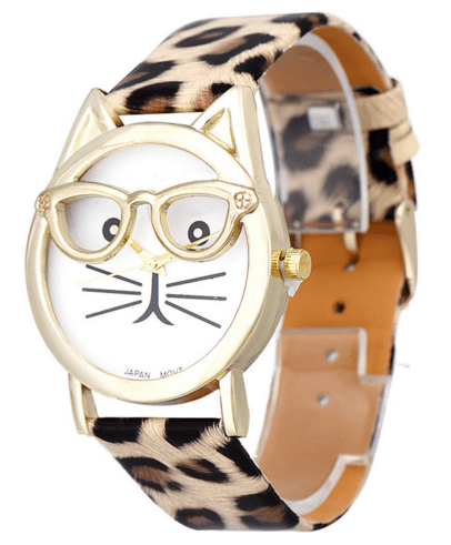 Just Released! Get This Unique Cat Faced Watches Now!! FREE WORLDWIDE SHIPPING!