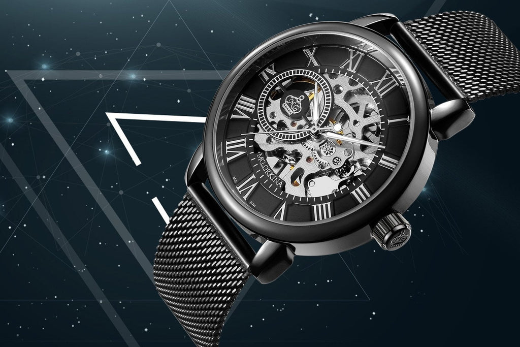 2018 Luxury Skeleton Dial Mechanical Hand-wind Watches
