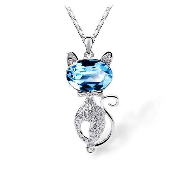 New 2016 Fashion Cat Pendant Necklace - QualityGrab