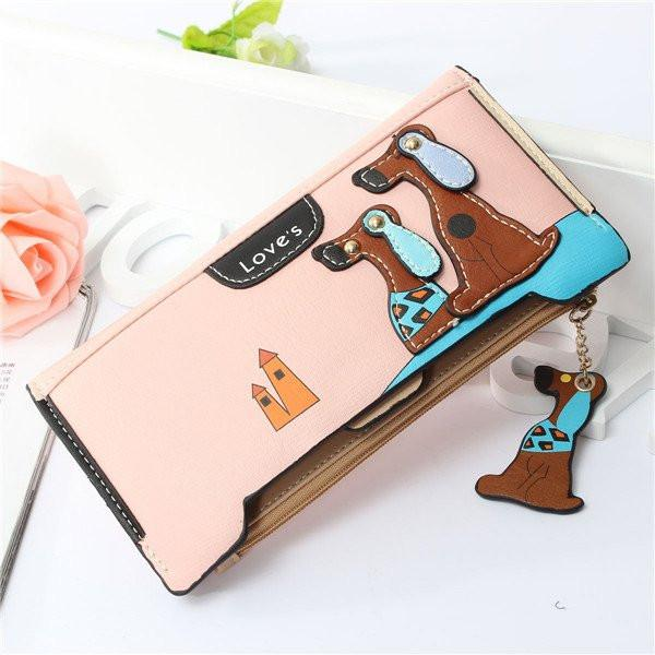 Korea Style Lovely Dog Wallet . FREE WORLDWIDE SHIPPING! - QualityGrab