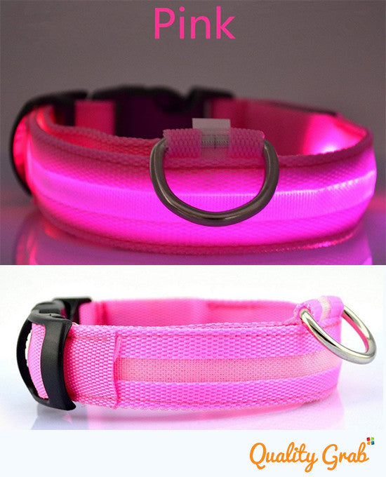 2016 LED Dog Night Safety Collar. FREE SHIPPING! - QualityGrab