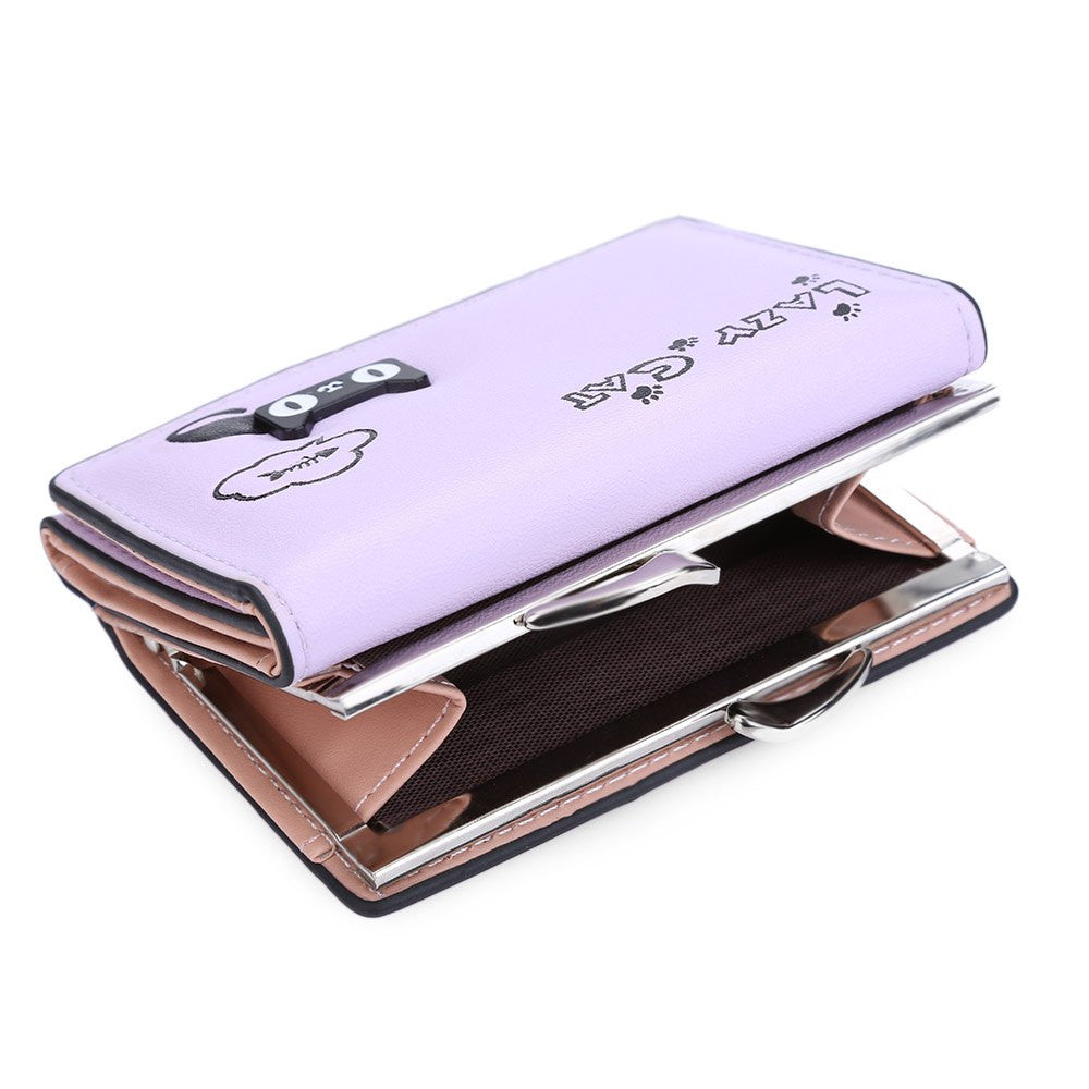 Korean Style Lazy Cat Wallet