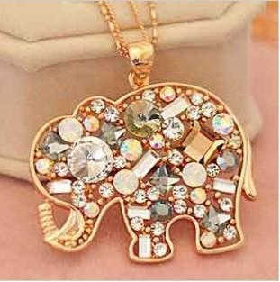 Korean Fashion Lovely Elephant Necklace