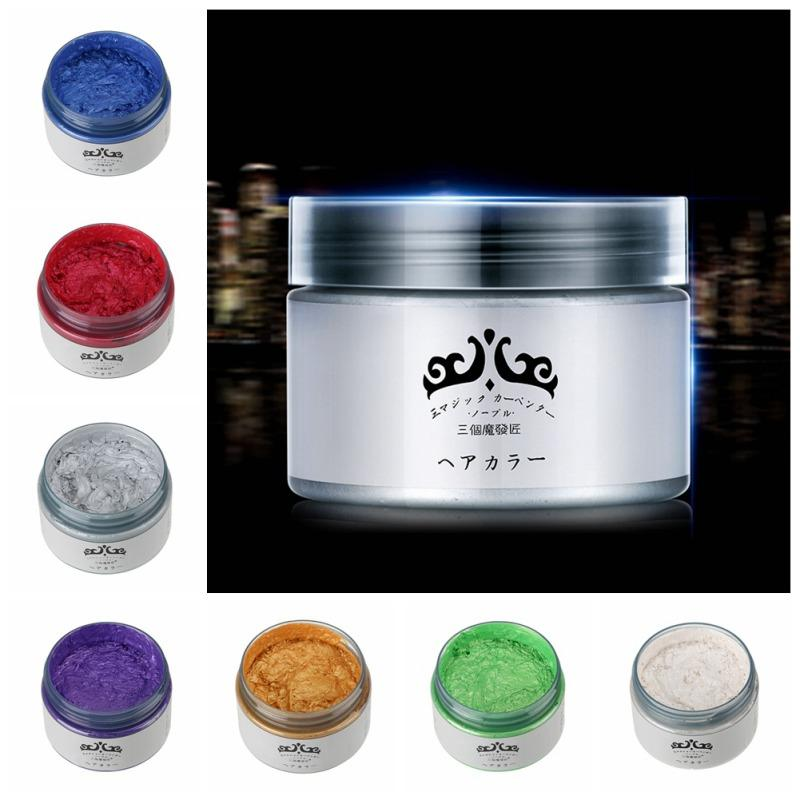 Japan Washable Colour Hair Dye Wax